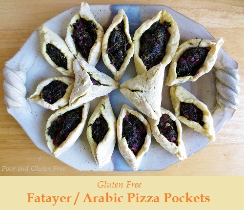 Vegan and Gluten Free Fatayer / Miniature Pizza Pies