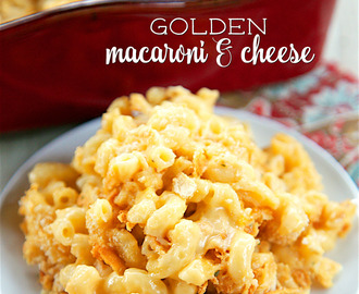 Golden Macaroni and Cheese