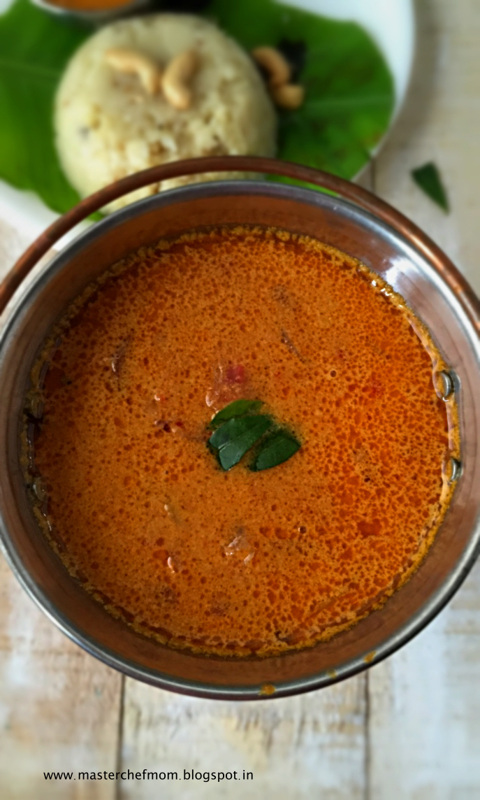 Chettinad Vengaya Kosu | Spicy Curry from Chettinad Cuisine | Tasty Side Dish for Rice and  Flat Breads | How to prepare  Vengaya Kosu | Quick and Easy Recipe | Stepwise Pictures