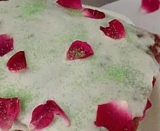 Paan Cake | A Festive Cake  | Betel Leaf flavoured Cake | How to make Paan Cake | Stepwise Pictures | Eggless Cake Recipe