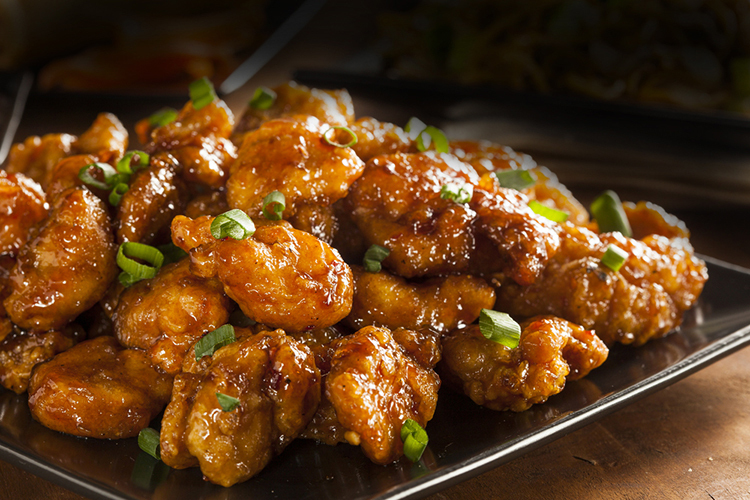 6-Ingredient Orange Chicken