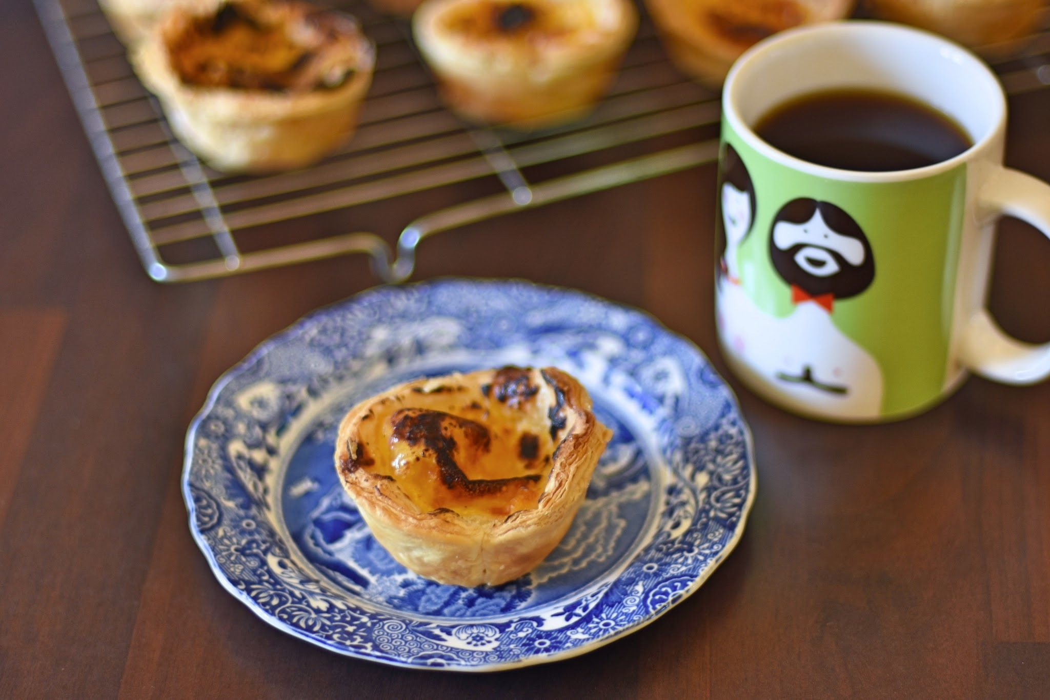 Bake Off Bake Along: Week 6 - Lemon Custard Tarts (Pasteis de Nata)