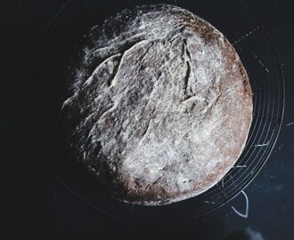 Glutenvrij 'overnight' brood