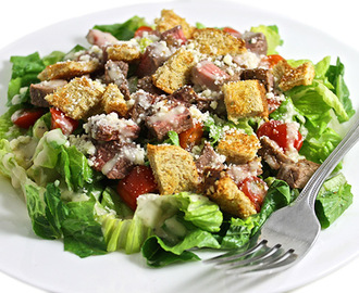 Skinny Caesar Steak Salad