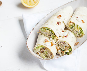 Ceasarsalad wraps