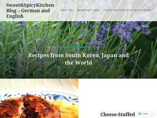Swee t& Spicy Kitchen Blog