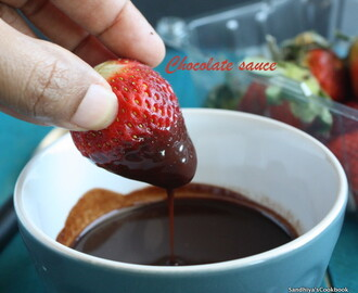 Homemade Chocolate Sauce | Chocolate syrup