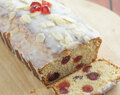 Cherry Bakewell Loaf Cake