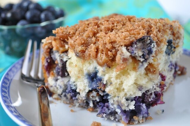 Blueberry Muffin Streusel Cake gone VIRAL!  #1 BEST of Blueberry Recipes