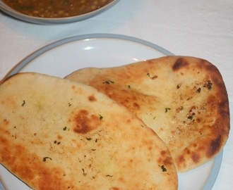 Homemade Naan Bread - in the bread maker