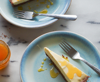 Passion Fruit & Milk Chocolate Tart