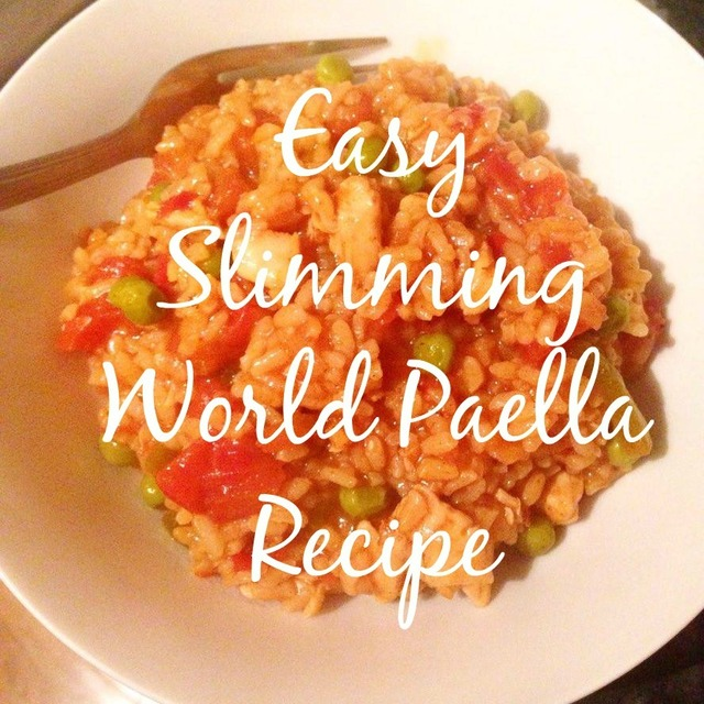 Easy Slimming World Paella Recipe..