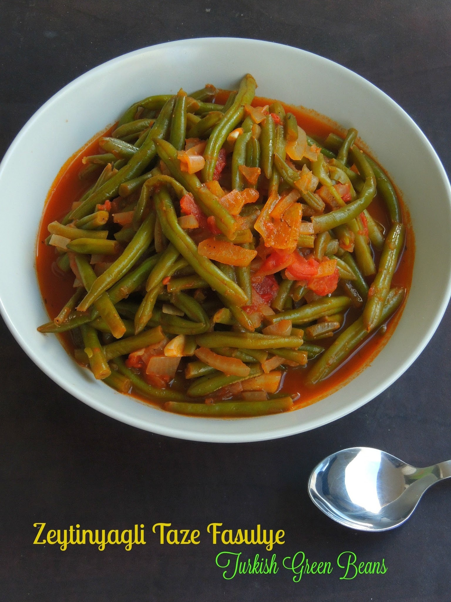 Zeytinyagli Taze Fasulye - Turkish Green Beans With Olive Oil