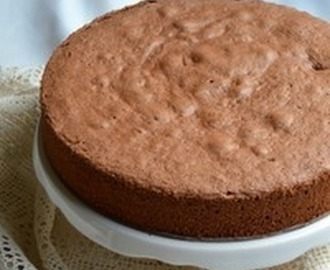 CHOCOLATE ITALIAN SPONGE CAKE Recipe