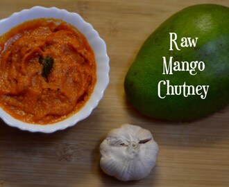 Raw Mango Chutney Recipe|Mavinakayi Chutney|South Indian Recipe