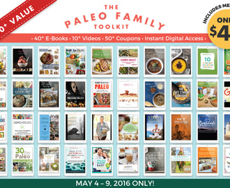 Now Available – The Paleo Family Toolkit