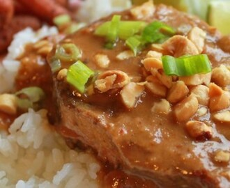 Thai Peanut Pork