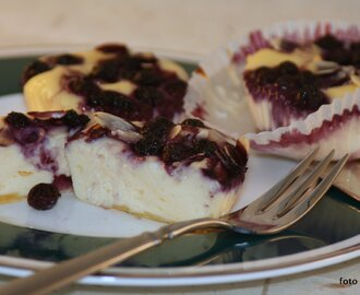 Blaubeer-Cheesecake-Muffins (Low Carb / Keto)