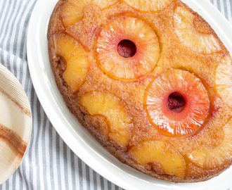 Ananas upside down cake