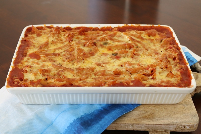 Thermomix Hidden Vegetable Pasta Bake