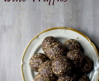 Mexican Chocolate Date Truffles (Vegan Energy Balls)