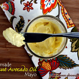 Simple Mayonnaise Recipe with Coconut and Avocado Oil