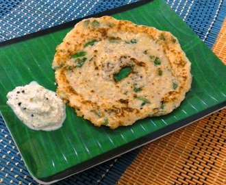 Suraikkai Adai /Bottle Gourd and Lentils Dosa