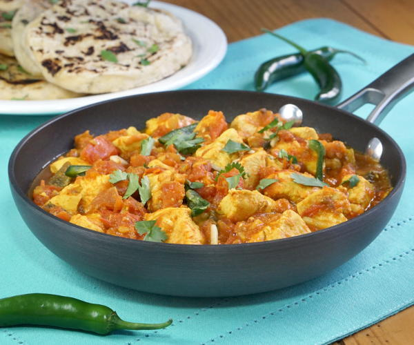 Chicken Karahi (Pakistani Chicken Curry) #SundaySupper