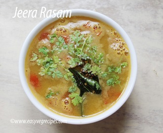 Jeera Rasam Recipe -- How to make Jeera Rasam