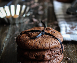 Doble chocolate cookies. La receta definitiva