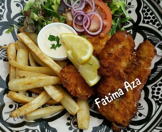 Koolhydraatarme Fish & Chips