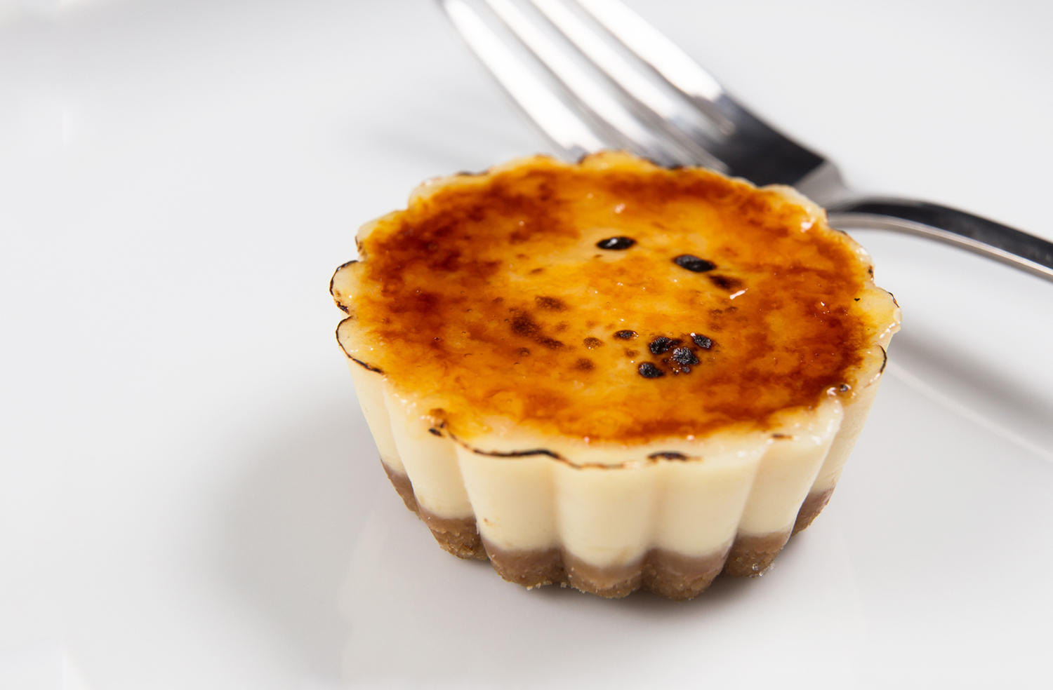 Instant Pot Cheesecake Creme Brulee Bites
