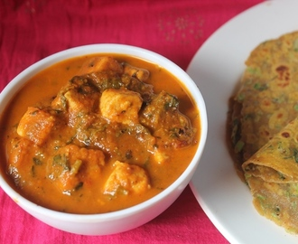 Methi Paneer Recipe - Methi Paneer Gravy Recipe