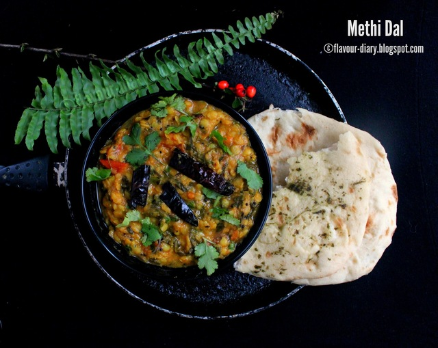 Methi Dal | Menthi Kura Pappu | Vegetarian | Andhra Cuisine | No Onion Garlic Recipes