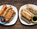 "Baked Vegetable ""Egg Rolls"""