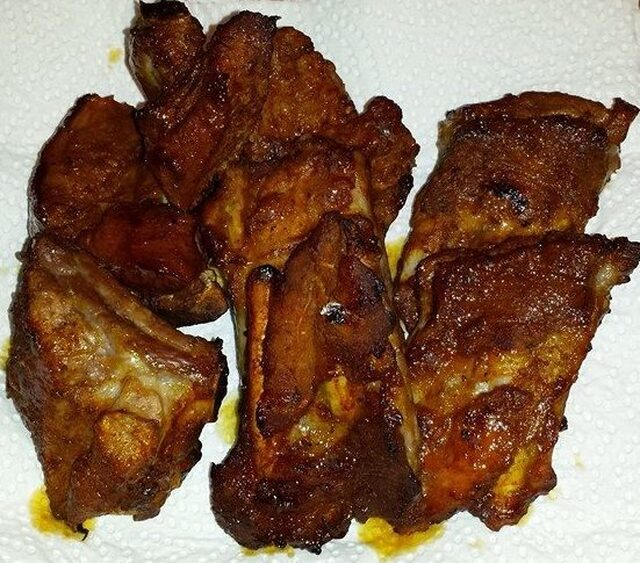 Spicy Spare Ribs in Banana Ketchup