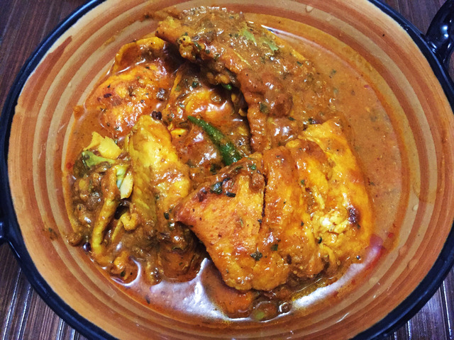 Methi Fish Curry