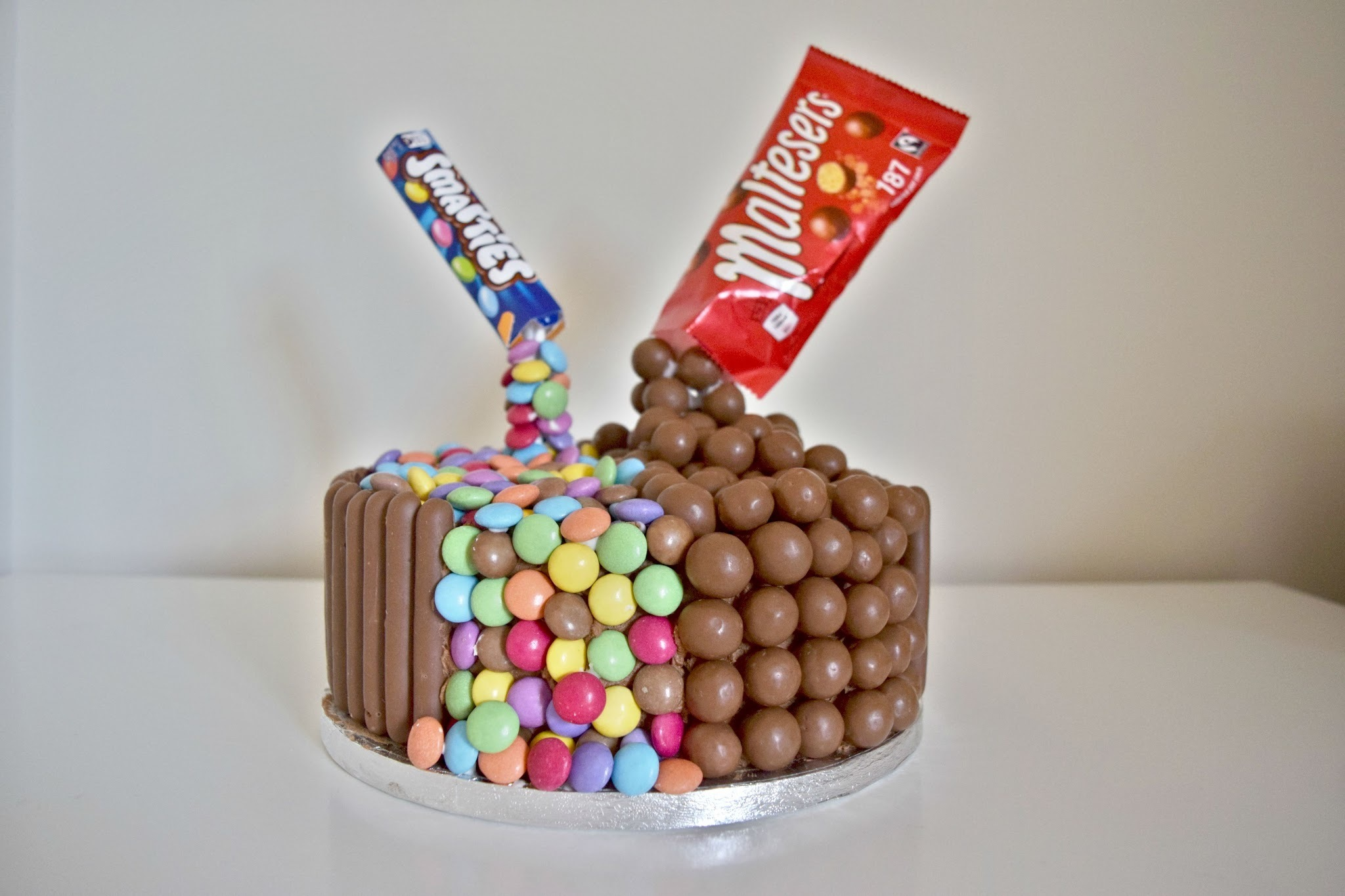 Gravity Defying Birthday Cake