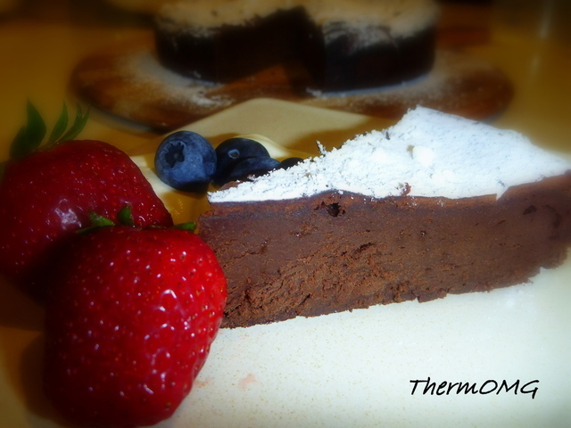 Chocolate Mousse Cake by Gail Kordic