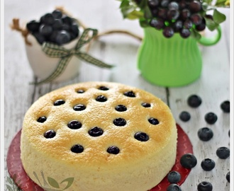 Yoghurt Blueberry Cake 酸奶蓝莓蛋糕