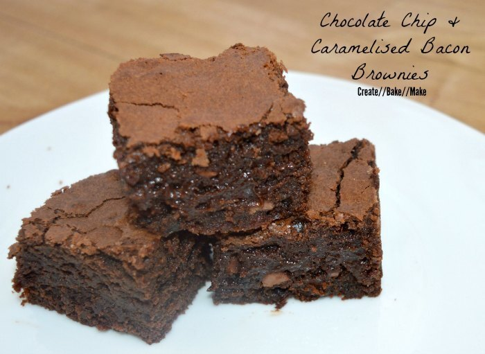Chocolate Chip and Caramelised Bacon Brownies & a Mini Quiche Recipe