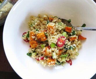 Lemony Quinoa and Sweet Potato Salad