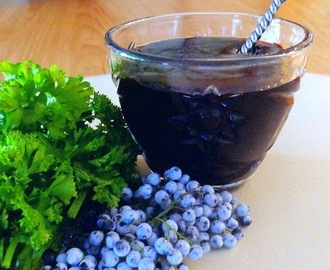 Elderberry Sauce for Pork, Turkey or Duck