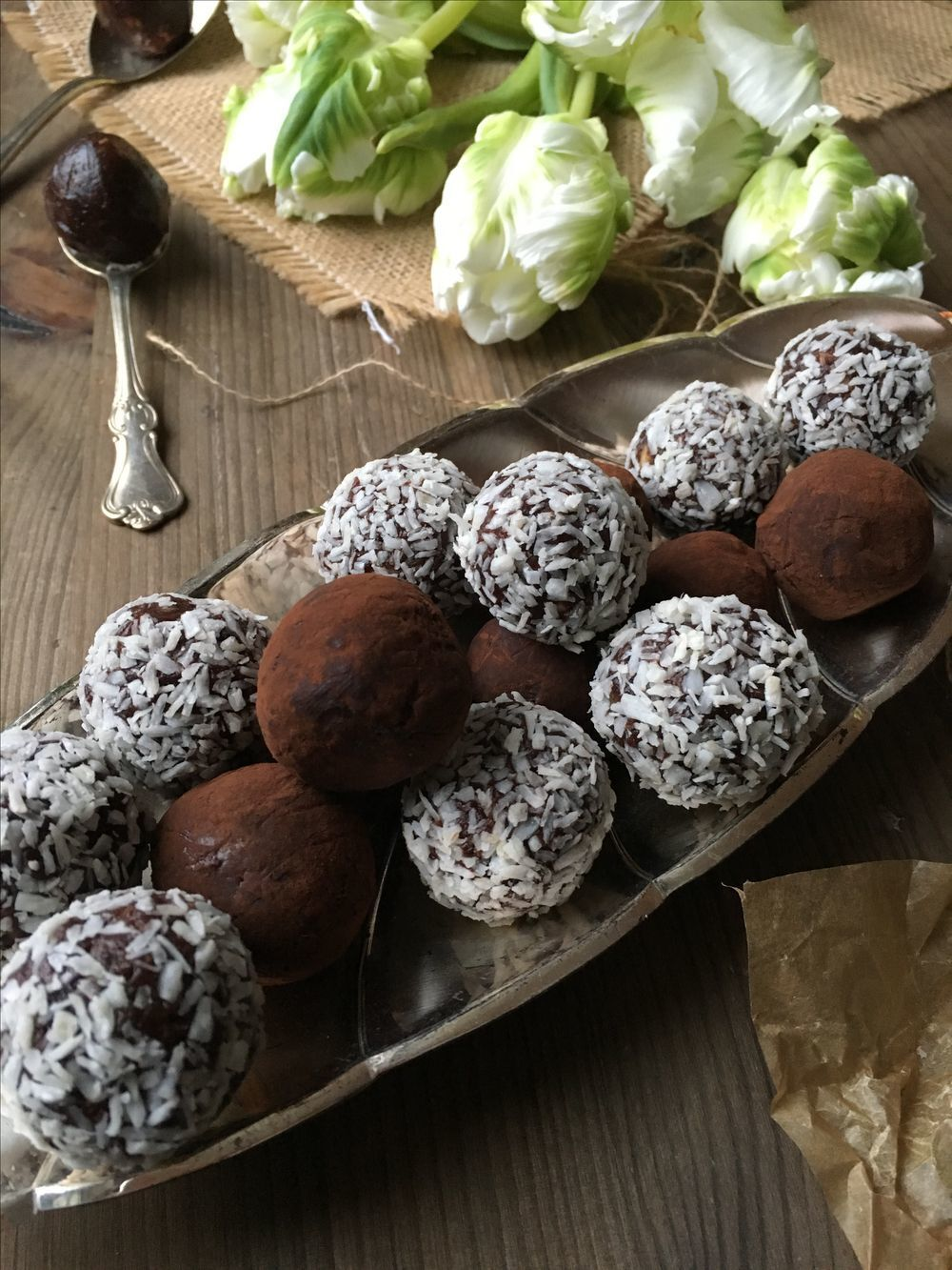 Raw food glutenfria chokladbollar