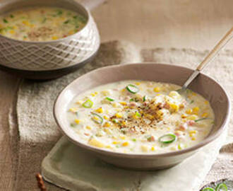 Corn bacon chowder