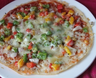 Pizza Dosa Recipe - Kids Special Recipes