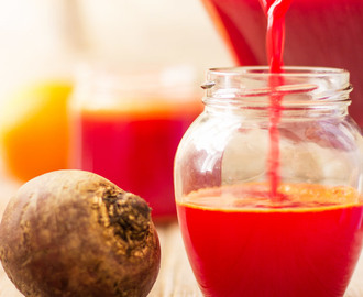 Immune Booster Beet, Carrot & Orange Juice