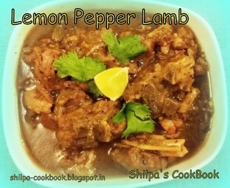 Dish #445 - Lemon Pepper Lamb
