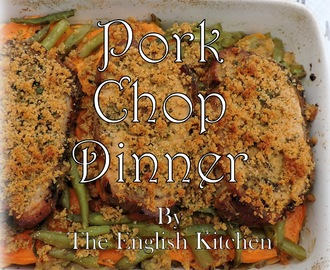 One Pan Pork Chop Dinner