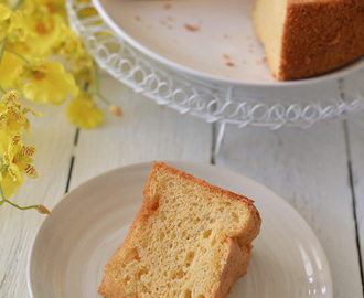 Sweet and Salty Salted Egg Yolk Chiffon Cake